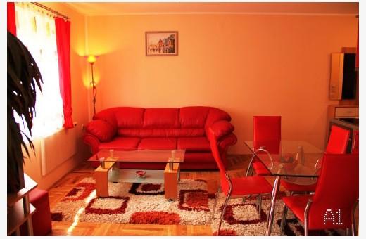 Apartment A1 Living room, Apartments Srećica - Zlatibor