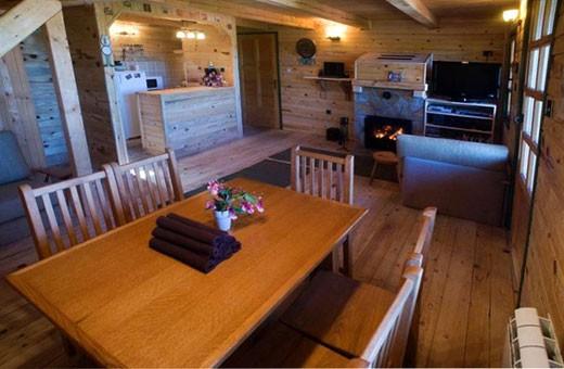 Living room, Hostel Montana - Koponik