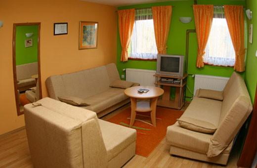 Apartman10 dnevni boravak, Apartmani Marić - Zlatibor
