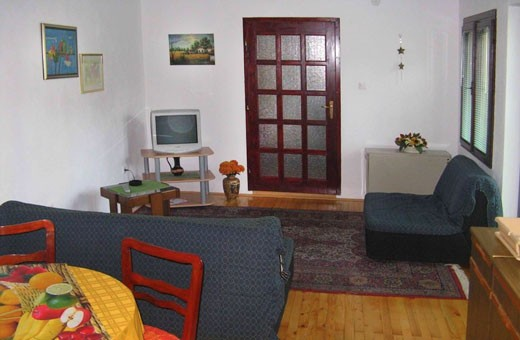 Apartman1 dnevni boravak, Apartmani Slavica - Jagodina