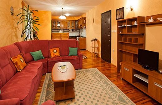 Apartment 5 living room, Pension Dabić - Zlatibor