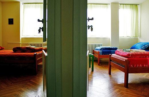 Pogled iz hodnika, Apartman Komunac - Novi Beograd