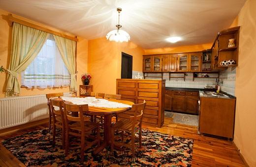 Apartment 5 kitchen and dining room, Pension Dabić - Zlatibor