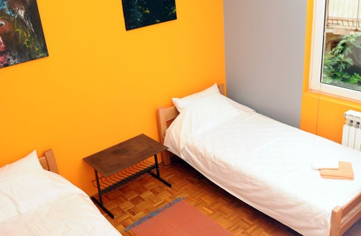 Room 1/3, Hostel Rookies - Novi Sad