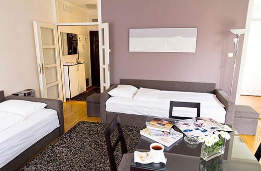 Living room, Apartment Skadarlija 2 - Belgrade