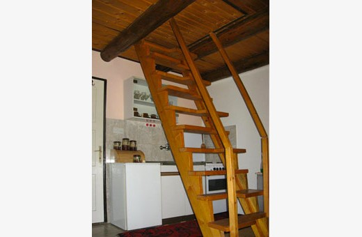 Internal stairs, Ski house - Kopaonik
