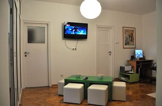 Dnevni boravak, Hostel Dali - Beograd