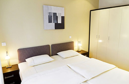 Bedroom 1, Apartment Skadarlija - Belgrade