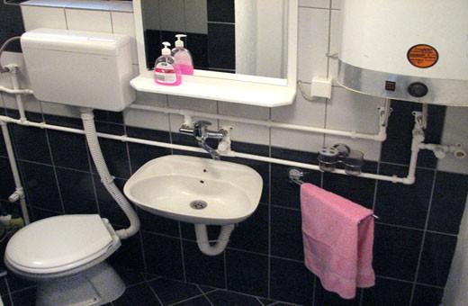 Apartman1 kupatilo, Apartmani Slavica - Jagodina