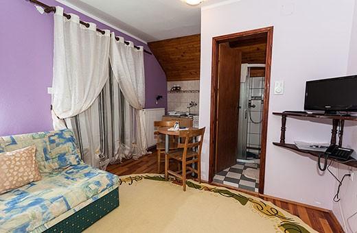 Apartment 3 living room, Pension Dabić - Zlatibor