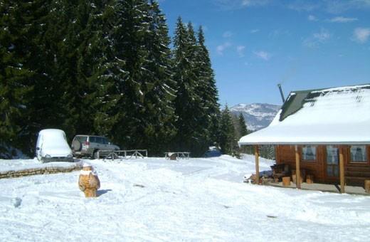 Winter time, Boarding house Nebo - Village Rudno