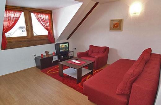 """Apartment 3 living room, Apartments """"Tarska kuća Viva"""" - Tara"""