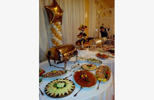 Food in the restaurant, Villa Jelena - Belgrade