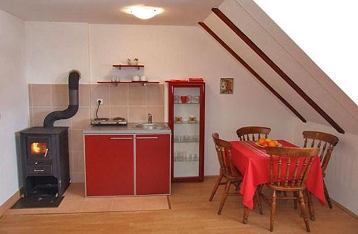 "Apartment 3 kitchen and dining room, Apartments ""Tarska kuća Viva"" - Tara"