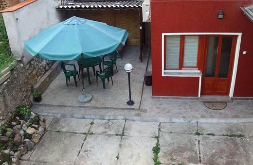 Terrace, Accommodation Ristić - Niška Banja