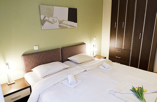 Bedroom, Apartment Silicon Valley - Belgrade